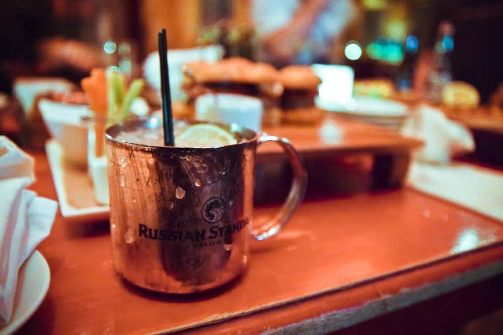 Photo of Moscow Mule cocktail
