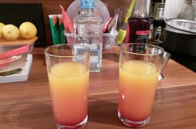 Photo of Tequila Sunrise cocktail