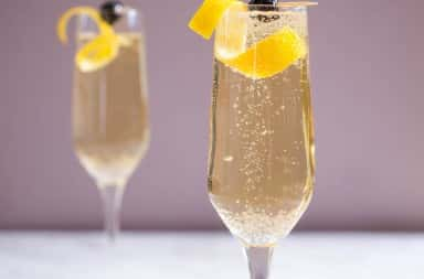 Photo of French 75 cocktail