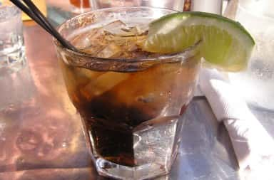 Photo of Cuba Libre cocktail