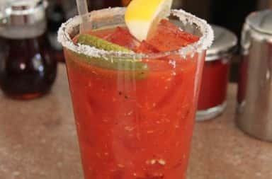 Photo of Bloody Mary cocktail