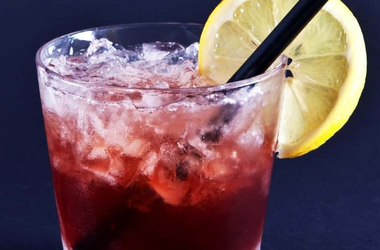 Photo of Bramble cocktail