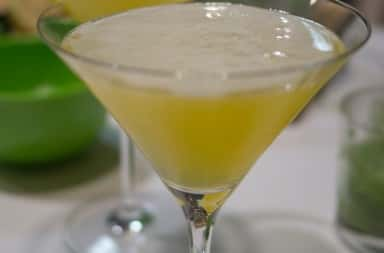 Photo of Lemon Drop Martini cocktail