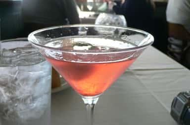 Photo of Cosmopolitan cocktail