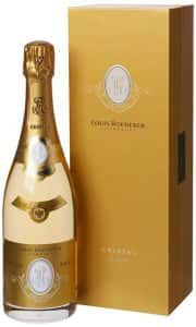 Bottle of Louis Roederer Champagne (Cristal Brut 2009)